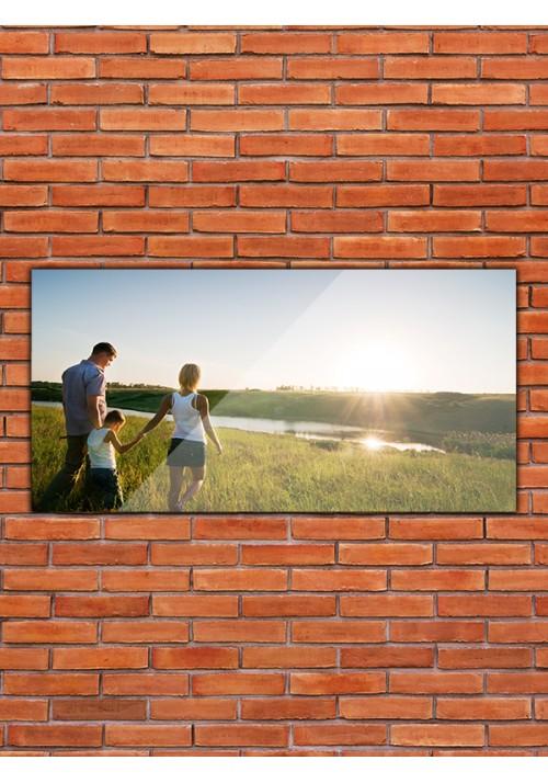 Plexiglass 40x20 cm paysage