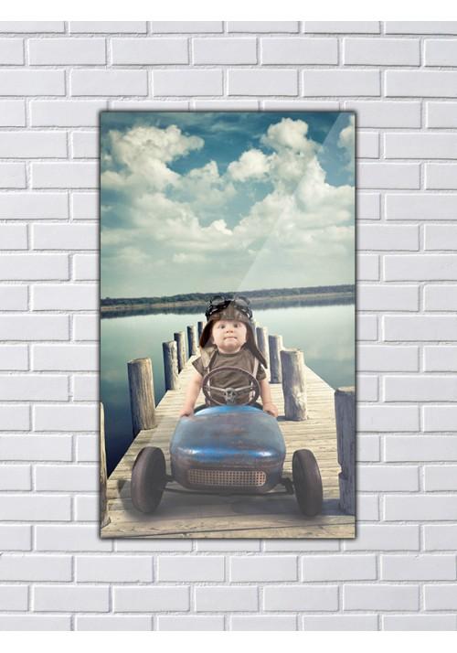 Plexiglass 50x30 cm portrait