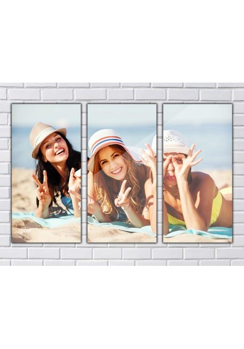 Triptyque Plexiglass OPALE