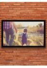 Toile Lin PERSONNALISABLE 46x27 cm Paysage